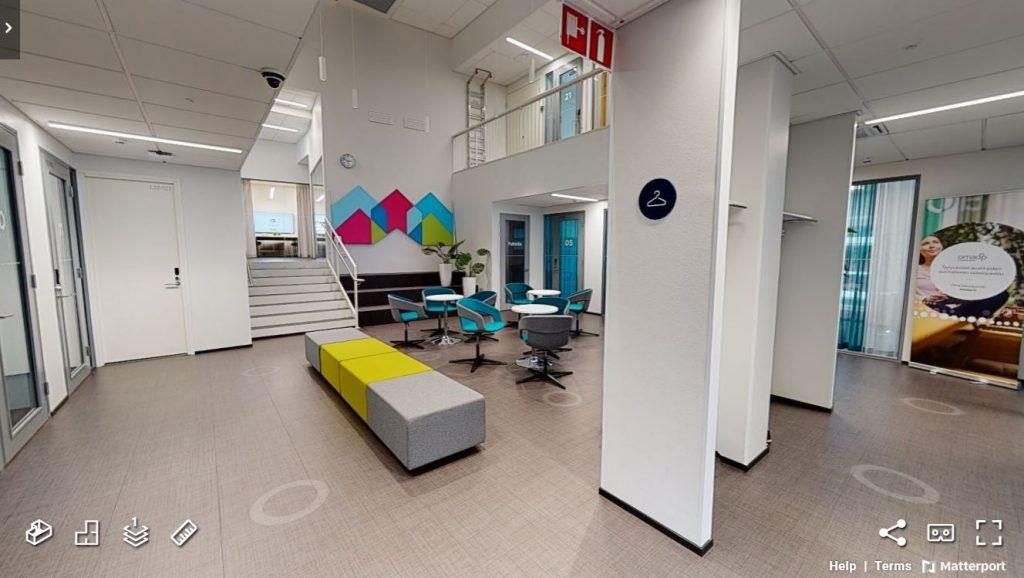 Lempäälän Ideakeskus 3d kuvaus